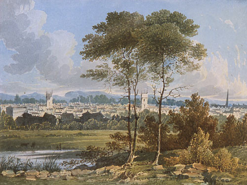 Distant View of Reading ( George Shepherd)