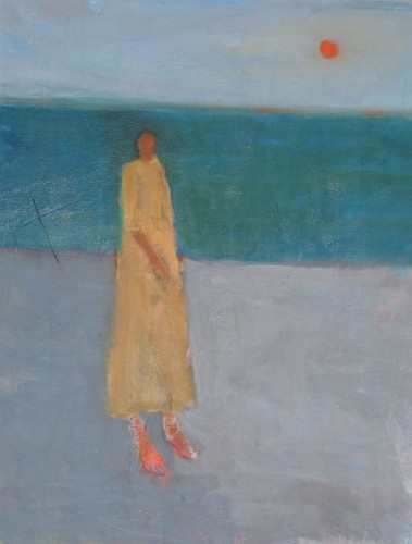 Figure on a Grey Beach ( Sue Jamieson)